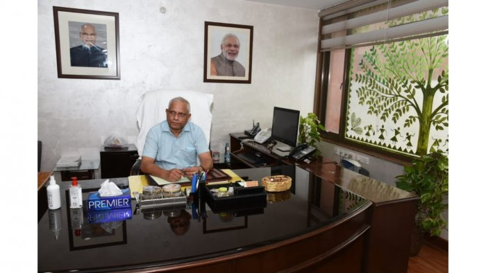 Deepak Das takes charge as new Controller General of Accounts_40.1