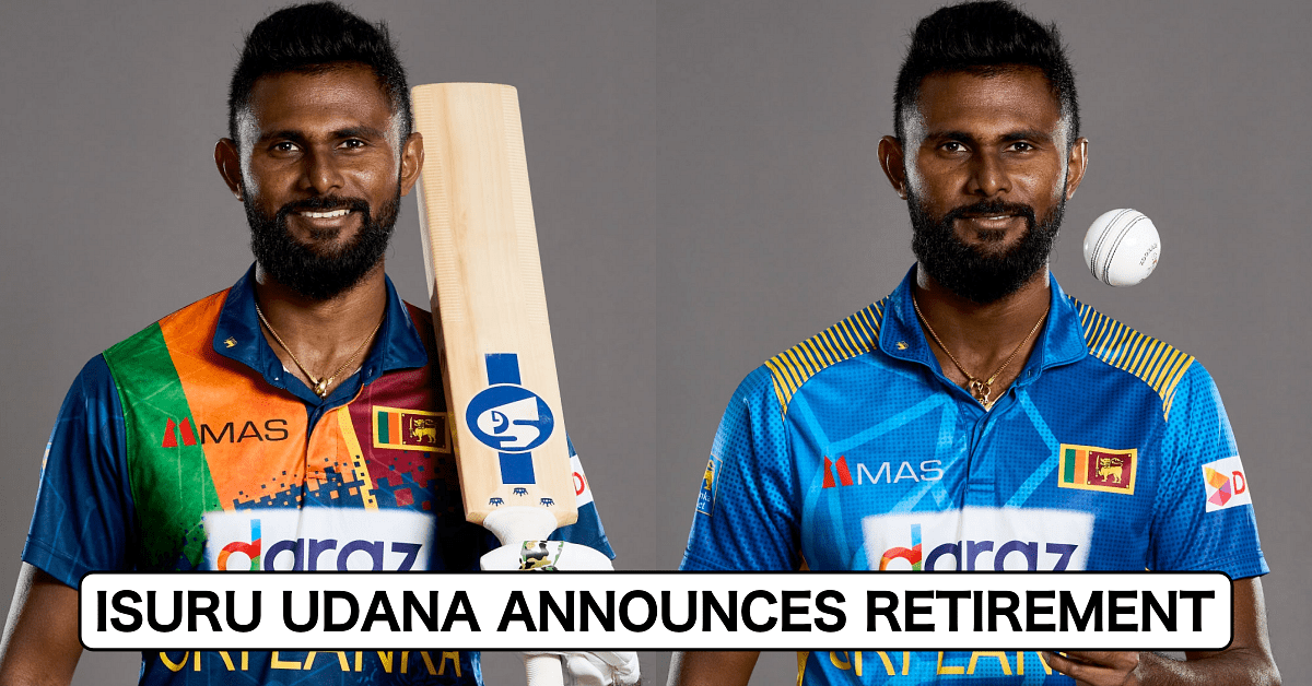 Isuru Udana retires from international cricket_40.1