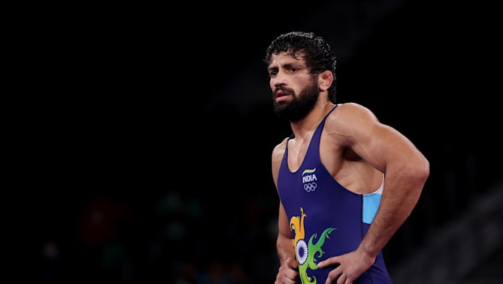 Ravi Kumar Dahiya wins silver medal_40.1