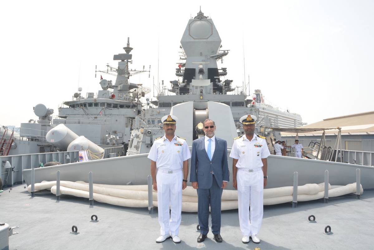 India-UAE Navy undertakes bilateral exercise 'Zayed Talwar 2021'_40.1