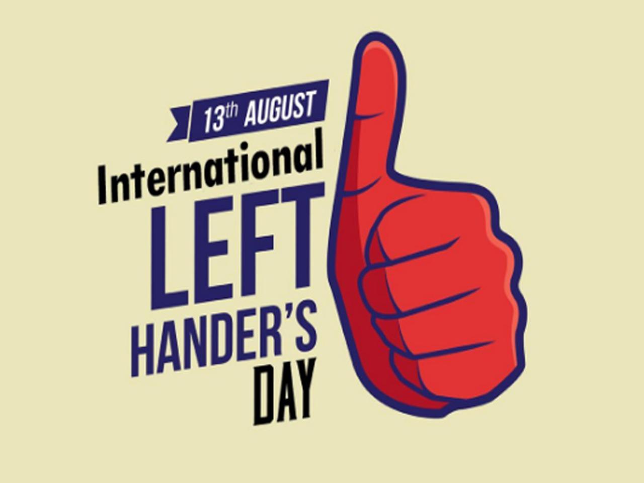 13 August : International Lefthanders Day_40.1