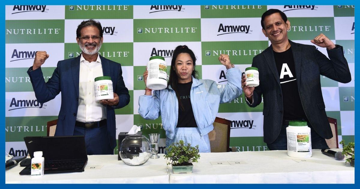 Amway India appoints Mirabai Chanu as brand ambassador | অ্যামওয়ে ইন্ডিয়া মিরাবাই চানুকে ব্র্যান্ড অ্যাম্বাসেডর নিযুক্ত করেছে_40.1