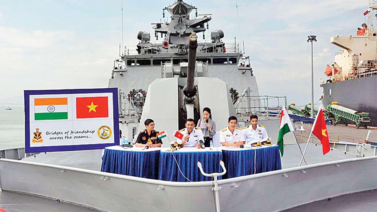 Indian Navy Conducts Bilateral Maritime Exercise with Vietnam | ভারতীয় নৌবাহিনী ভিয়েতনামের সাথে দ্বিপক্ষীয় সমুদ্র মহড়া পরিচালনা করেছে_40.1