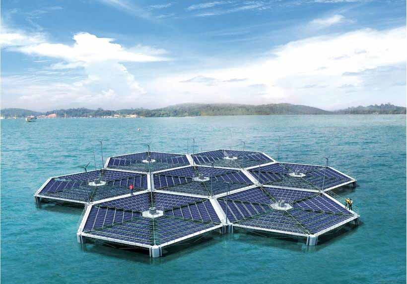 ভারতের বৃহত্তম ভাসমান সৌর PV প্রকল্প অন্ধ্রপ্রদেশে চালু হয়েছে | India's largest Floating Solar PV Project commissioned in Andhra Pradesh_40.1