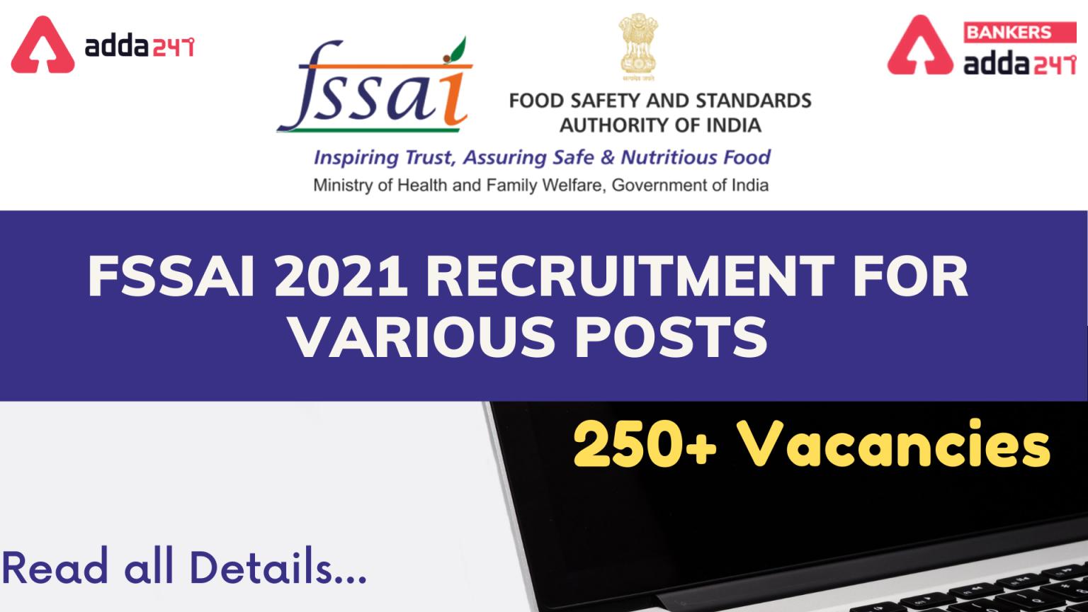 FSSAI নিয়োগ 2021 (FSSAI Recruitment 2021)_40.1