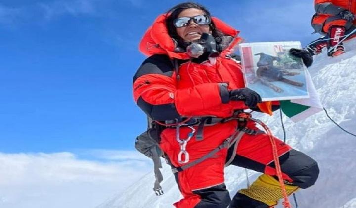 Priyanka Mohite becomes first Indian woman to scale Mt Annapurna   பிரியங்கா மோஹிட் மவுண்ட் அன்னபூர்ணாவை மலையேறிய முதல் இந்திய பெண்மணி என்ற பெருமையை பெற்றார்  _40.1