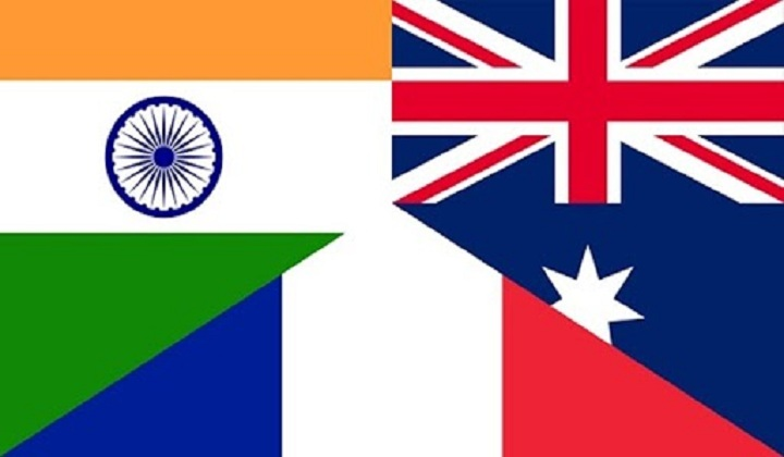 India, France, Australia hold first trilateral dialogue | இந்தியா, பிரான்ஸ், ஆஸ்திரேலியா முதல் முத்தரப்பு பேச்சுவார்த்தை நடைபெற்றது |_40.1