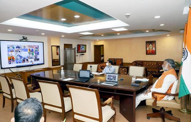 Prahlad Singh Patel Virtually Participates In G20 Tourism Ministers' Meeting   G-20 சுற்றுலா துறை அமைச்சர்கள் மெய்நிகர் கூட்டத்தில் பிரஹ்லாத் சிங் படேல் பங்கேற்றார்  _40.1