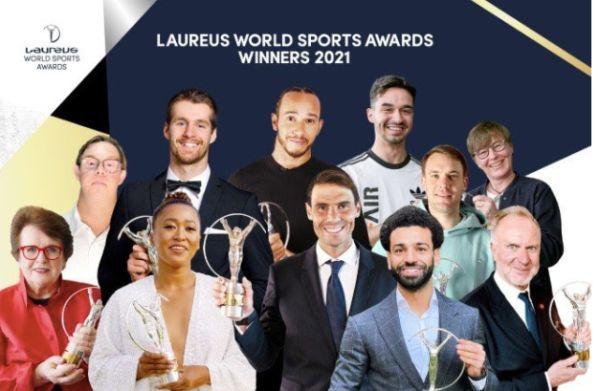 Naomi Osaka wins top title at 2021 Laureus World Sports Awards | நவோமி ஒசாகா 2021 லாரஸ் உலக விளையாட்டு விருது வென்றார். |_40.1