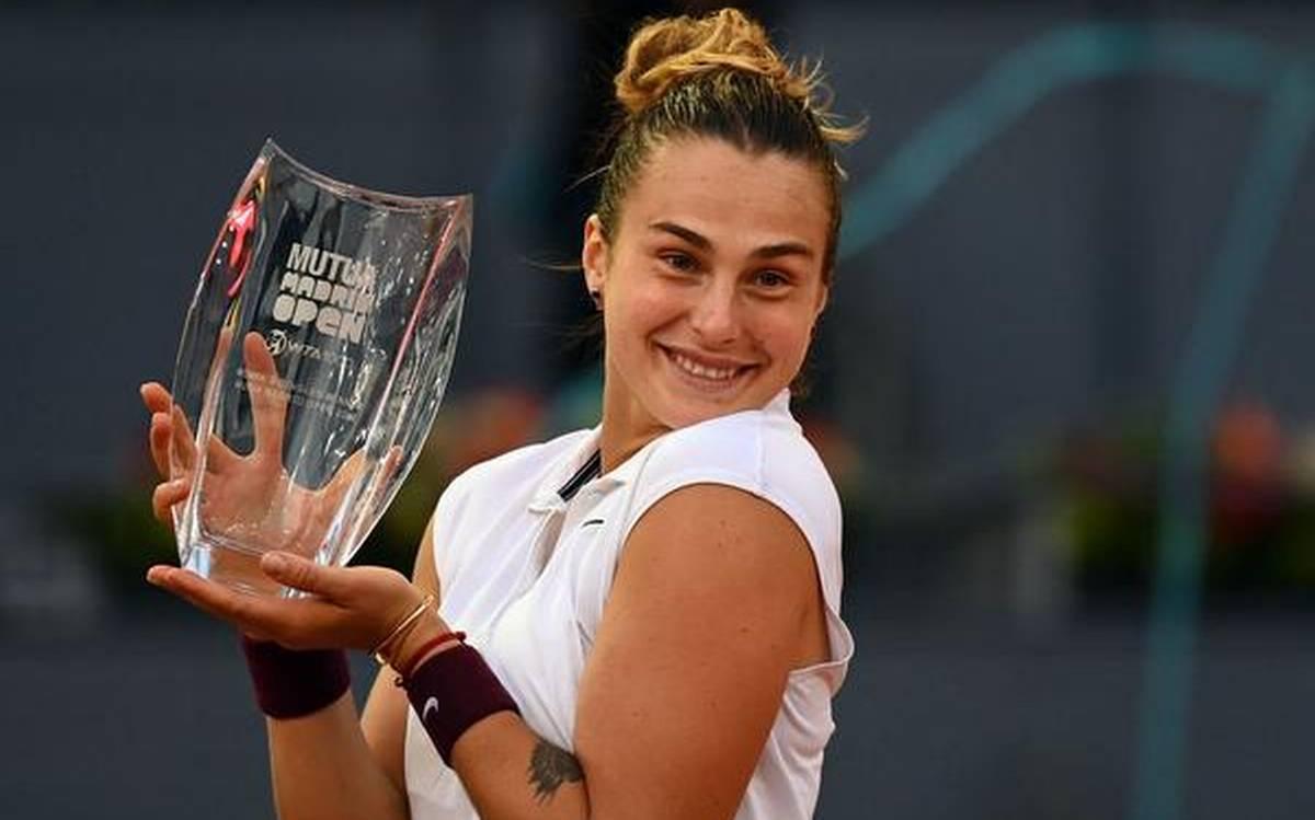 Aryna Sabalenka wins her Maiden Madrid Open Women's singles title | ஆர்னா சபாலெங்கா தனது மாட்ரிட் ஓபன் மகளிர் ஒற்றையர் பட்டத்தை வென்றார் |_40.1