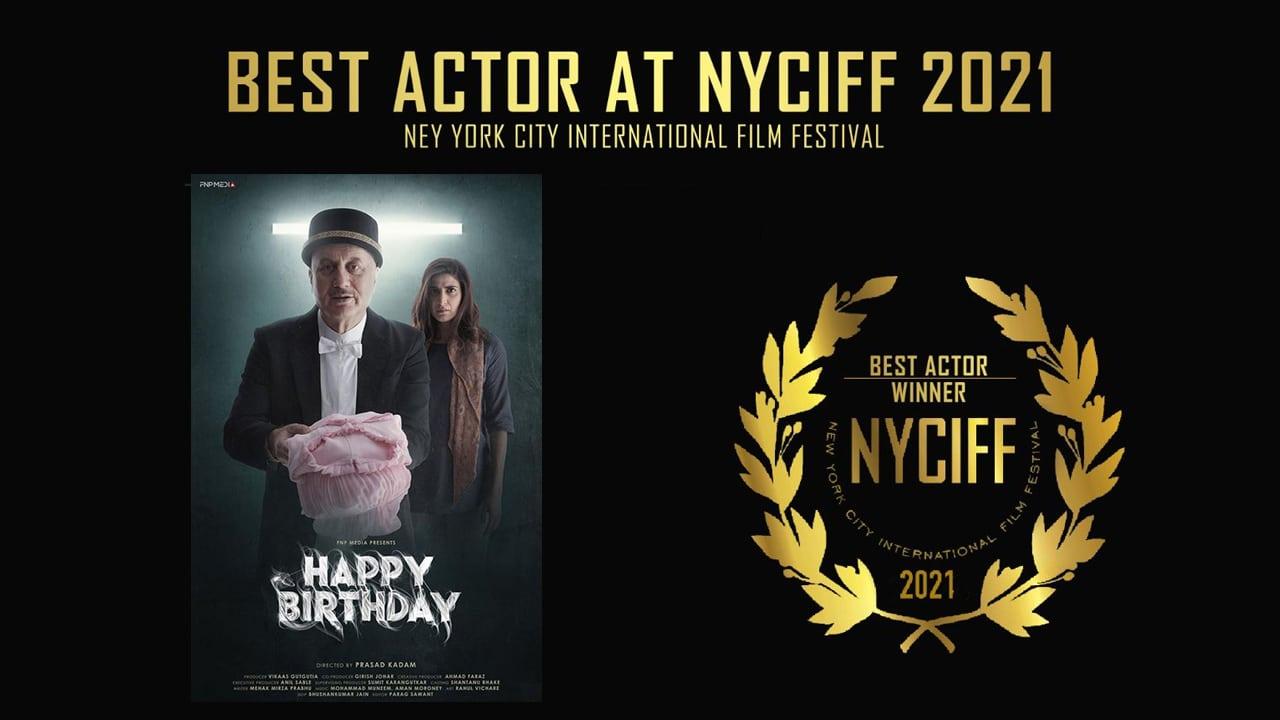Anupam Kher wins best actor award at New York City International Film Festival   நியூயார்க் நகர சர்வதேச திரைப்பட விழாவில் சிறந்த நடிகருக்கான விருதை அனுபம் கெர் வென்றார்  _40.1