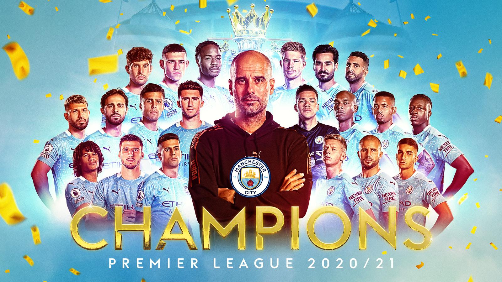 Manchester City crowned 2020-21 Premier League champions   மான்செஸ்டர் சிட்டி 2020-21 பிரீமியர் லீக் சாம்பியனாக முடிசூடியது.  _40.1