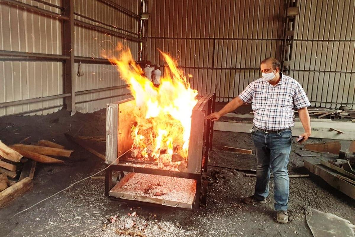 IIT Ropar developed portable eco-friendly mobile cremation system | IIT ரூபர் சிறிய சுற்றுச்சூழல் பாதிக்காத நடமாடும் தகன முறையை உருவாக்கியது |_40.1