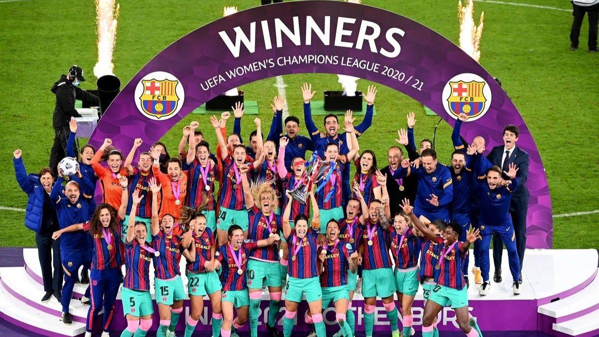 Barcelona Women beat Chelsea Women to win Women's Champions League trophy | பார்சிலோனா மகளிர் அணி செல்சியா மகளிர் அணியை வீழ்த்தி மகளிர் சாம்பியன்ஸ் லீக் கோப்பையை வென்றனர் |_40.1