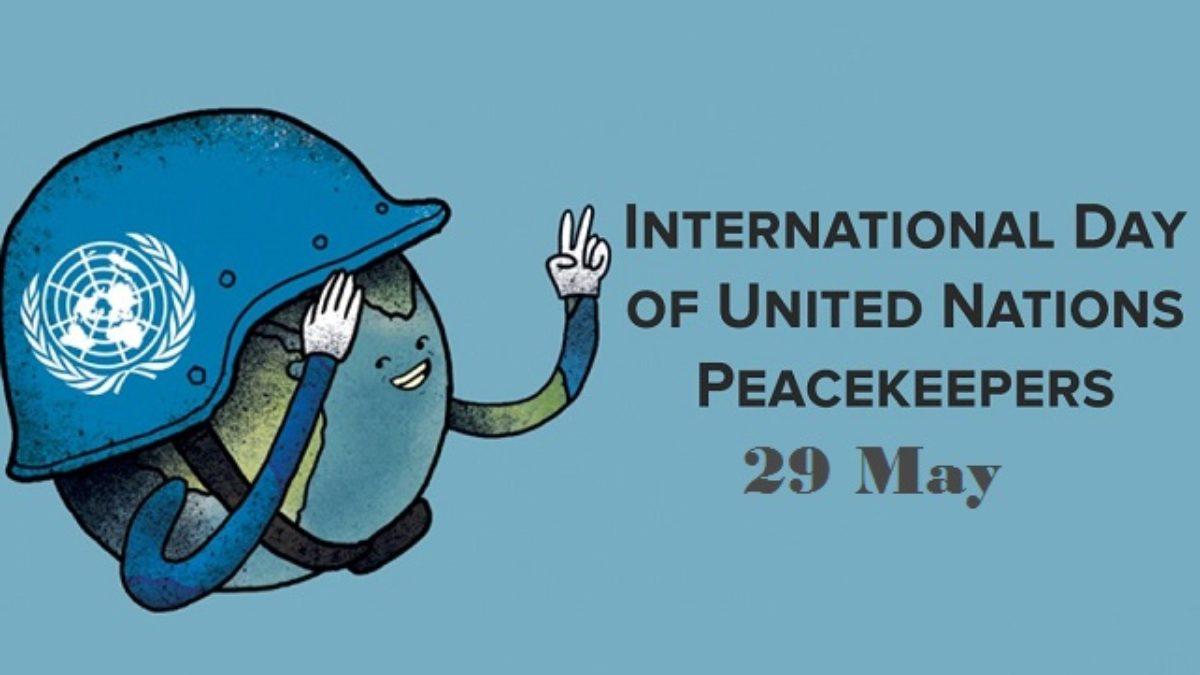 International Day of United Nations Peacekeepers: 29 May | ஐக்கிய நாடுகளின் அமைதி காக்கும் சர்வதேச தினம்: 29 மே |_40.1