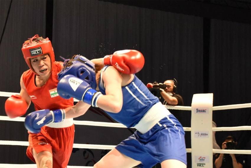 Mary Kom Settles with Silver Medal at 2021 Asian Boxing Championships | மேரி கோம் 2021 ஆசிய குத்துச்சண்டை சாம்பியன்ஷிப்பில் வெள்ளிப் பதக்கத்தை வென்றார் |_40.1