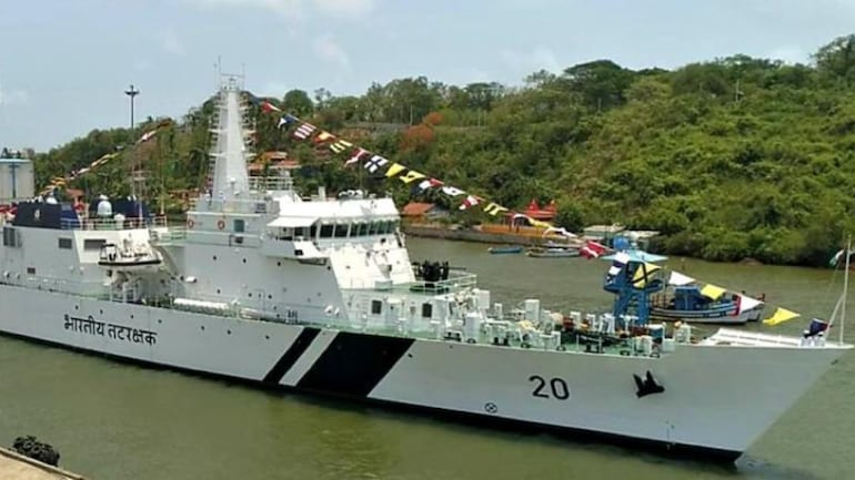 NSA Doval commissions Indian Coast Guard's ship Sajag | NSA டோவல் இந்திய கடலோர காவல்படையின் கப்பல் சஜாக் ஐ நியமித்துள்ளார். |_40.1