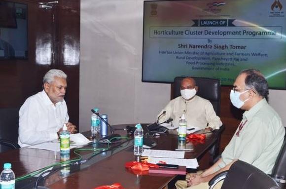 Narendra Singh Tomar launches Horticulture Cluster Development Programme | நரேந்திர சிங் தோமர் தோட்டக்கலை கிளஸ்டர் மேம்பாட்டு திட்டத்தை தொடங்கினார் |_40.1