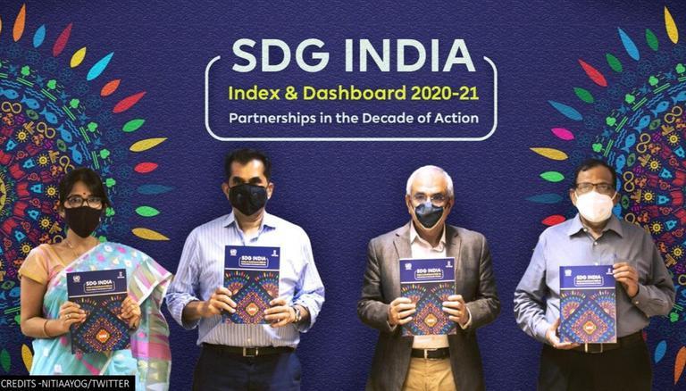 Kerala retains top rank in Niti Aayog's 3rd SDG India Index 2020-21   நிதி ஆயோக்கின் 3 வது SDG இந்தியா குறியீடு 2020-21 இல் கேரளா முதலிடம் வகிக்கிறது  _40.1