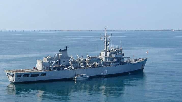 Navy's Hydrographic Survey Ship Sandhayak To Be Decommissioned | கடற்படையின் ஹைட்ரோகிராஃபிக் சர்வே ஷிப் சந்தயக் பணிநீக்கம் செய்யப்பட்டது. |_40.1
