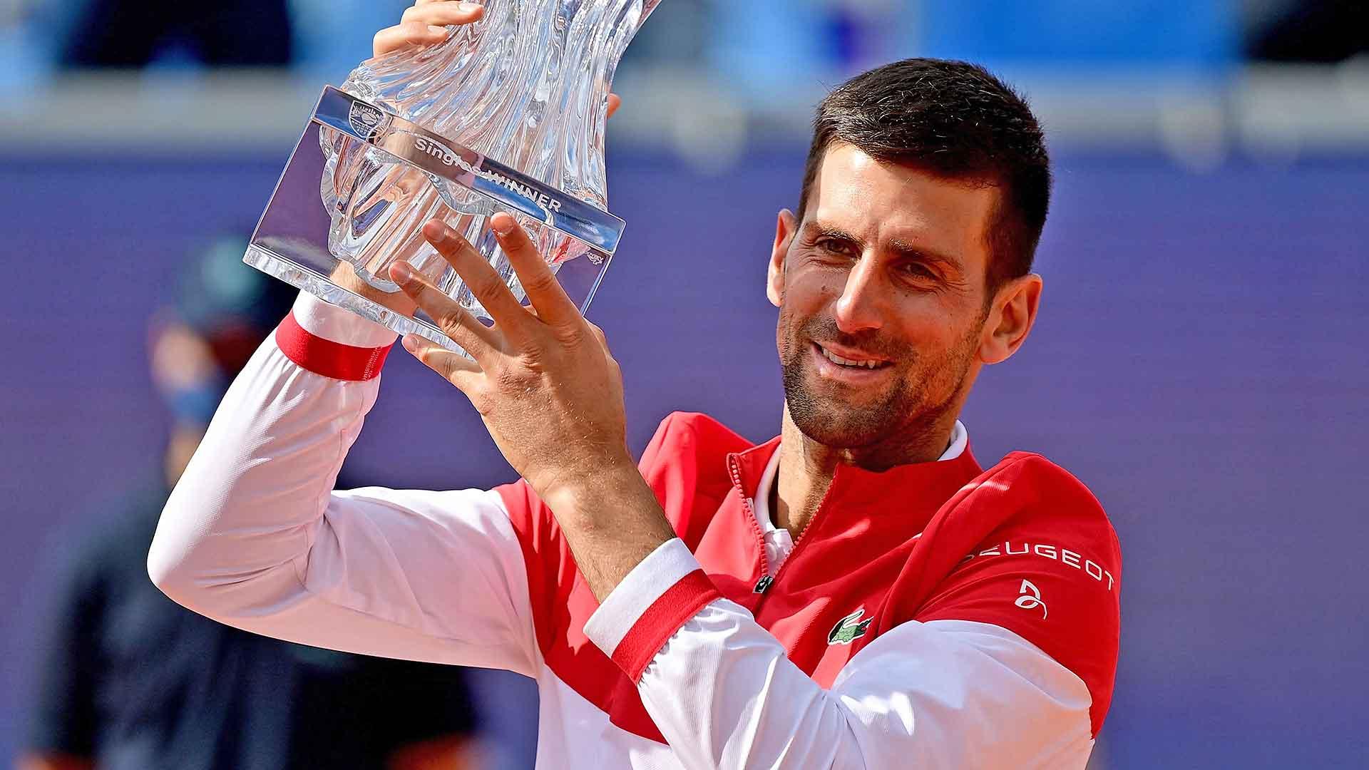 Djokovic Wins 83rd Career Title In Belgrade open   பெல்கிரேடில் ஜோகோவிச் 83 வது பட்டத்தை வென்றார்  _40.1