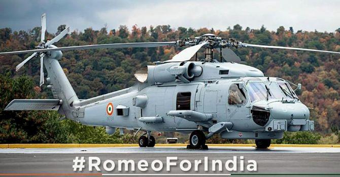 US to hand over three MH-60 'Romeo' multi-role choppers to India | மூன்று MH-60 'ரோமியோ' மல்டி-ரோல் வானுார்திகளை இந்தியாவுக்கு அமெரிக்கா ஒப்படைக்க உள்ளது |_40.1