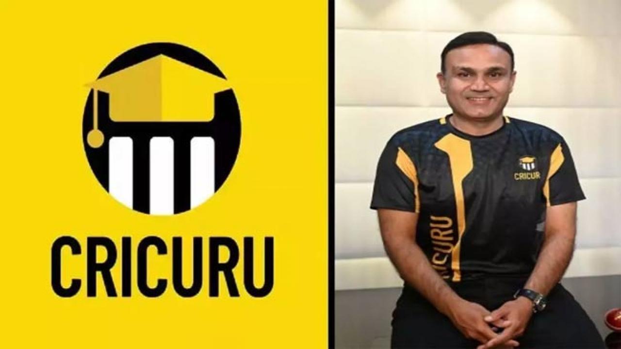 Sehwag launches cricket coaching website 'Cricuru' | சேவாக் கிரிக்கெட் பயிற்சி வலைத்தளமான 'கிரிகுரு' ஐ அறிமுகப்படுத்தியுள்ளார் |_40.1
