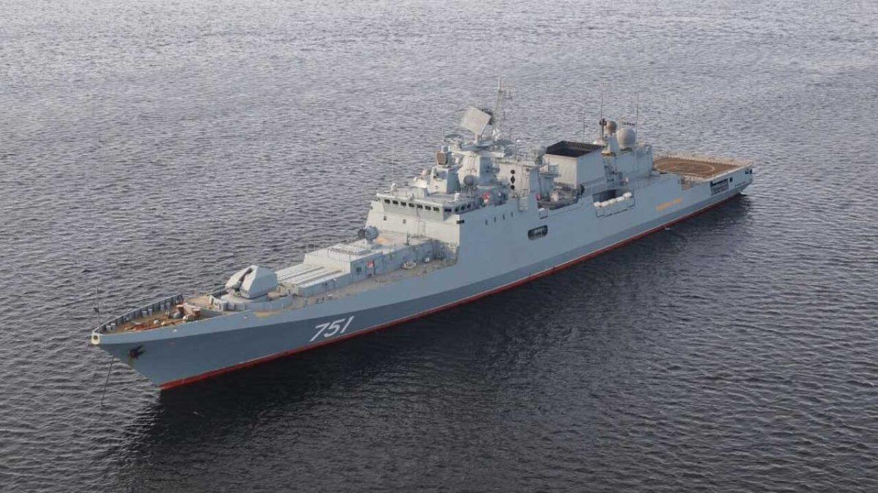 Russian navy building first fully stealth warship   ரஷ்ய கடற்படை முழுவதும் மறைந்து தாக்கும் முதல் போர்க்கப்பல் உருவாக்கி வருகிறது  _40.1