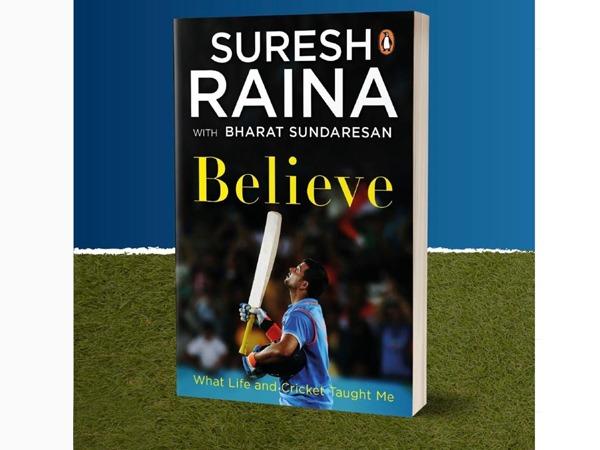 Cricketer Suresh Raina releases his autobiography 'Believe'   கிரிக்கெட் வீரர் சுரேஷ் ரெய்னா தனது சுயசரிதை 'பிலிவ் (Believe)' என்ற பெயரில் வெளியிட்டுள்ளார்  _40.1