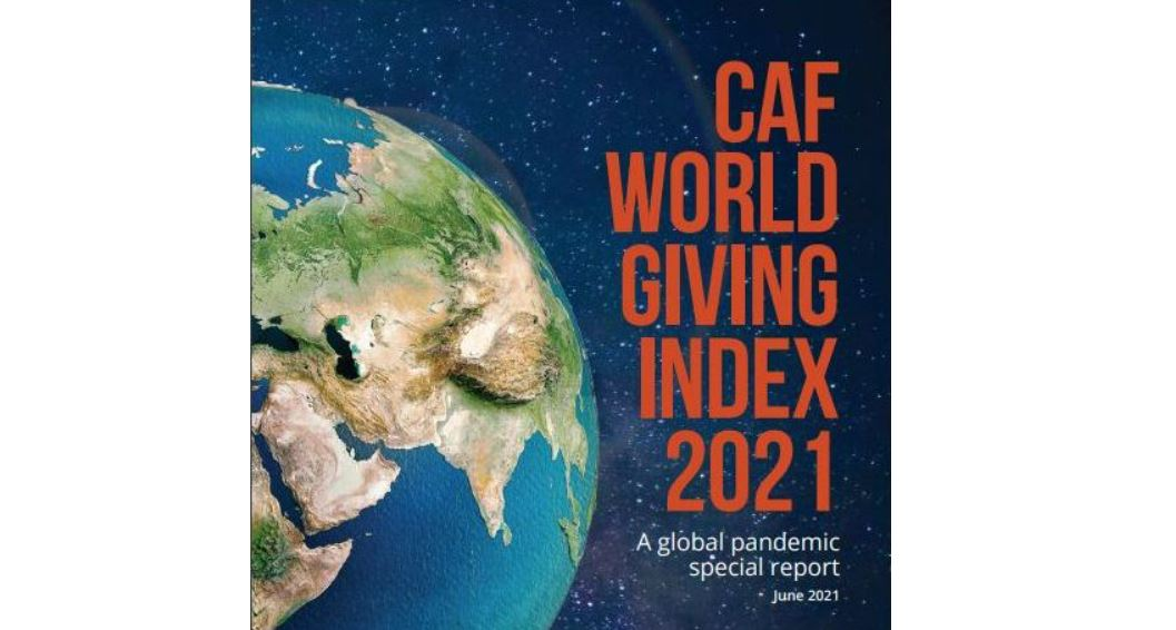 India ranked 14th in World Giving Index 2021   2021 உலக கொடுப்பனவு குறியீட்டில் இந்தியா 14 வது இடத்தில் உள்ளது  _40.1