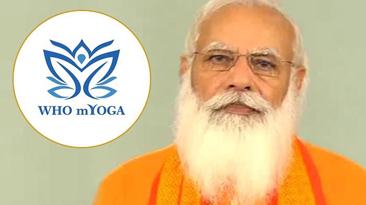 PM Narendra Modi launches mYoga App   பிரதமர் நரேந்திர மோடி mYoga செயலியை அறிமுகப்படுத்தினார்  _40.1