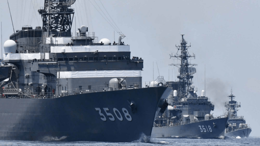 India, Japan conduct bilateral naval exercise in Indian Ocean | இந்தியா, ஜப்பான் இந்தியப் பெருங்கடலில் இருதரப்பு கடற்படைப் பயிற்சியை நடத்தினர் |_40.1