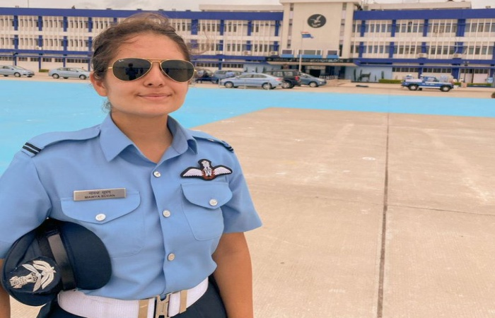 Mawya Sudan becomes IAF's 1st woman fighter pilot from J&K | மவ்யா சூடான் J & Kலிருந்து IAF இன் 1 வது பெண் போர் விமானியாகிறார் |_40.1