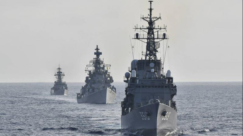 Indian Navy and European Naval Force hold first joint exercise | இந்திய கடற்படை மற்றும் ஐரோப்பிய கடற்படை முதல் கூட்டுப் பயிற்சியை நடத்துகின்றன |_40.1