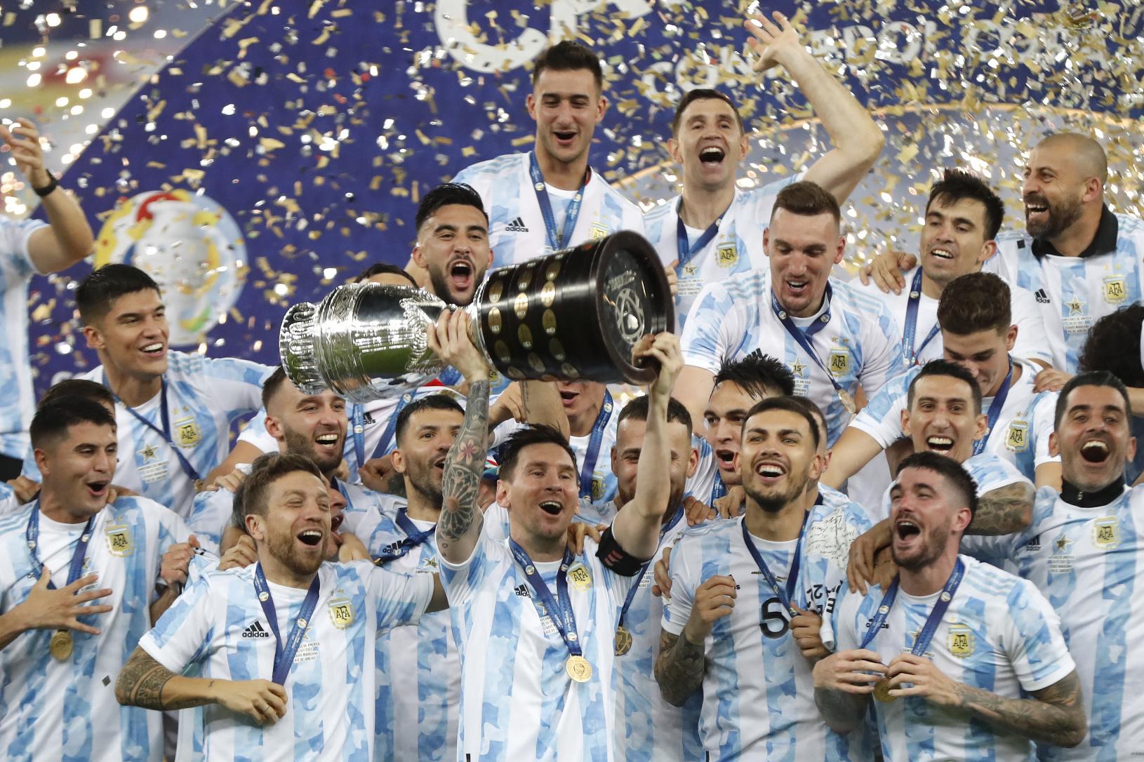 Argentina beats Brazil to Lift Copa America 2021 | 2021 ஆம் ஆண்டின் கோபா அமெரிக்கா வென்று அர்ஜென்டினா பிரேசிலை வீழ்த்தியது |_40.1
