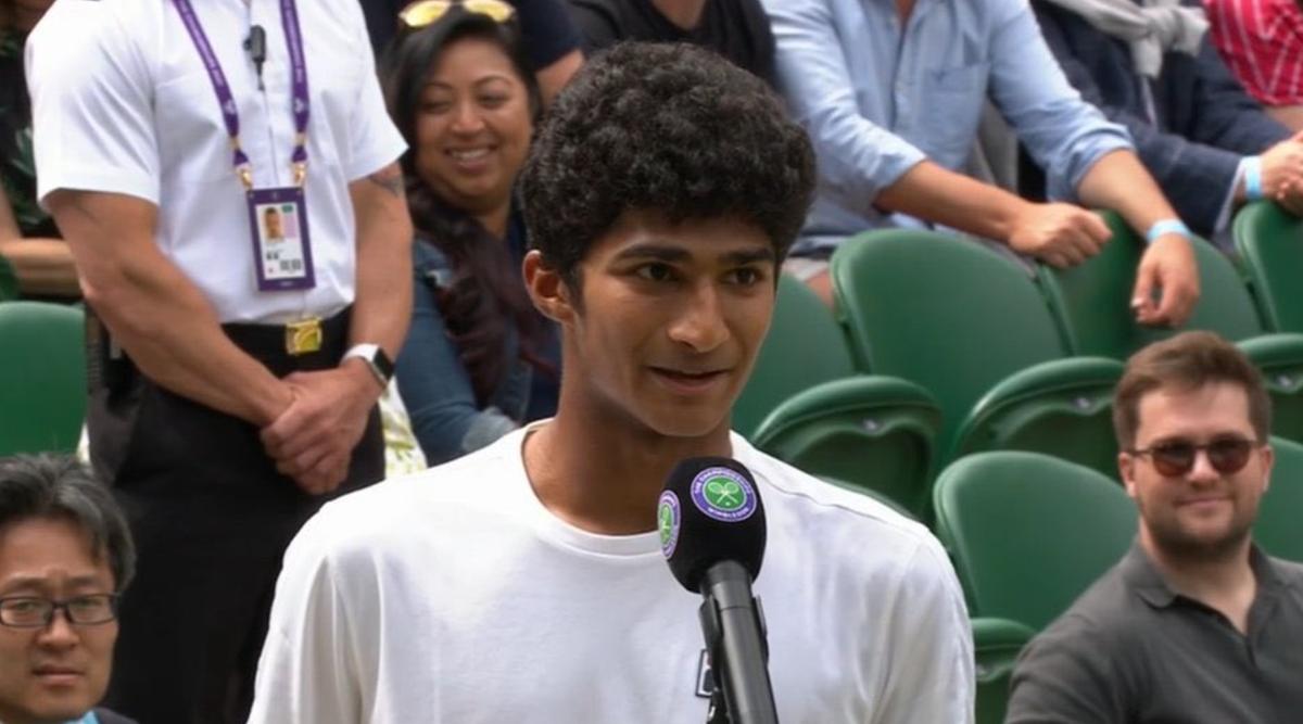 Samir Banerjee wins Wimbledon Junior Men's title   விம்பிள்டன் ஜூனியர் ஆண்கள் பட்டத்தை சமீர் பானர்ஜி வென்றார்  _40.1