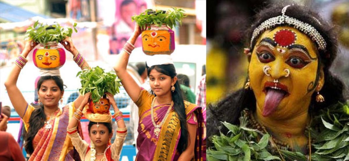 'Bonalu' festivities to begin in Telangana   'பொனாலு' விழாக்கள் தெலுங்கானாவில் தொடங்கியது  _40.1