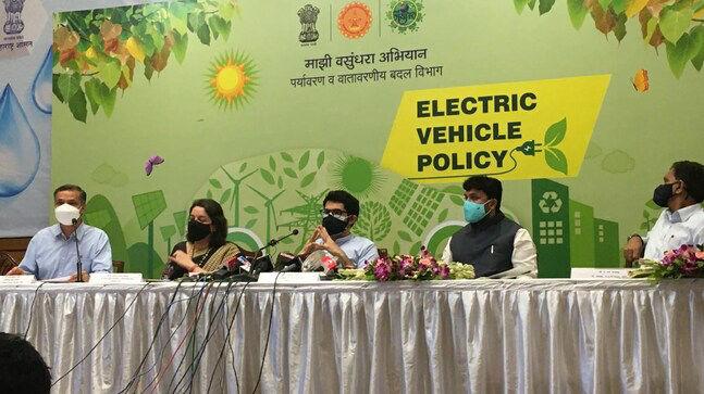 Maharashtra govt launches new EV Policy 2021   மகாராஷ்டிரா அரசு புதிய E.V. கொள்கை 2021 ஐ அறிமுகப்படுத்தியது  _40.1