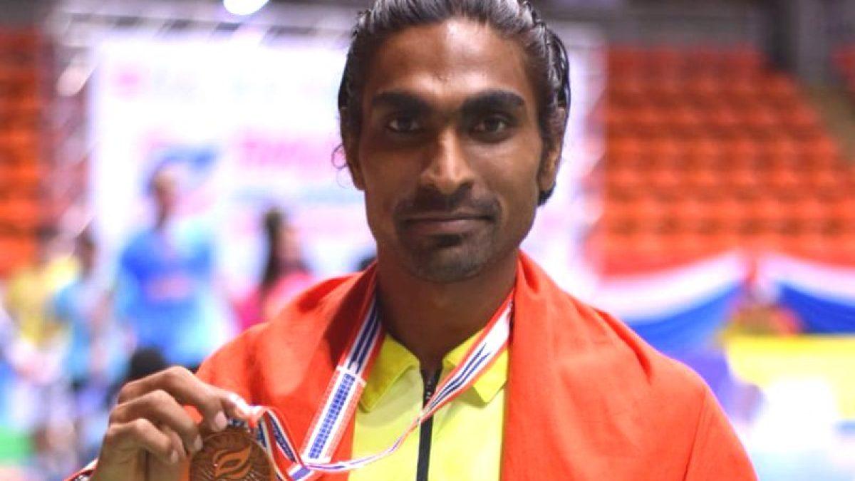 Pramod Bhagat named Differently Abled Sportsman of the Year 2019   பிரமோத் பகத் 2019 ஆம் ஆண்டின் மாற்று திறனாளி விளையாட்டு வீரராக தேர்வு செய்யப்பட்டார்  _40.1