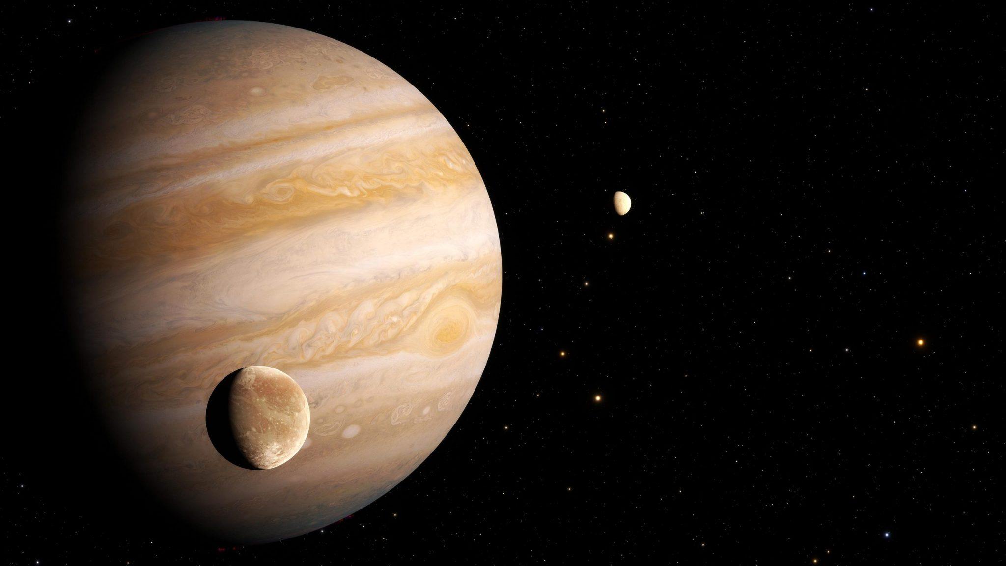Hubble Finds First Evidence of Water Vapor at Jupiter's Moon Ganymede | வியாழனின் துணை கோள் கேன்மீடில் நீர் நீராவியின் முதல் ஆதாரத்தை ஹப்பிள் கண்டுபிடித்துள்ளது |_40.1