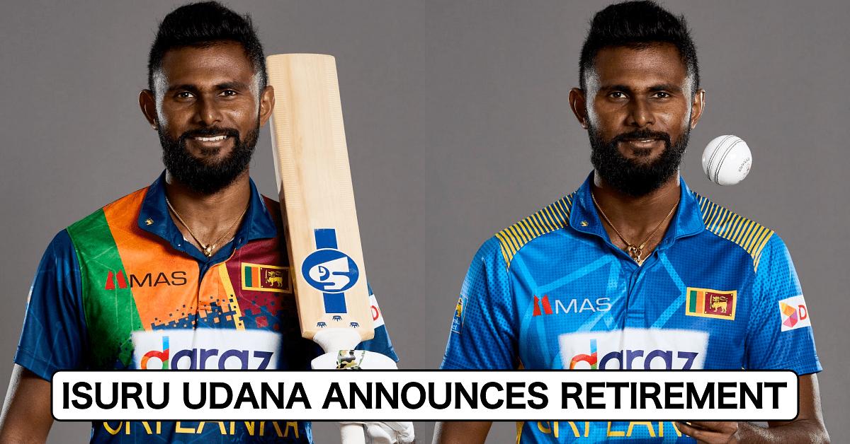 Sri Lanka bowling all-rounder Isuru Udana retires from international cricket | இலங்கை பந்துவீச்சு ஆல்-ரவுண்டர் இசுரு உதானா சர்வதேச கிரிக்கெட்டிலிருந்து ஓய்வு பெறுகிறார் |_40.1
