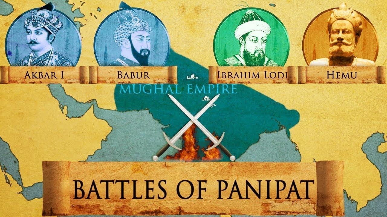 TNPSC Study material : History   3 important battles of Panipat  _40.1