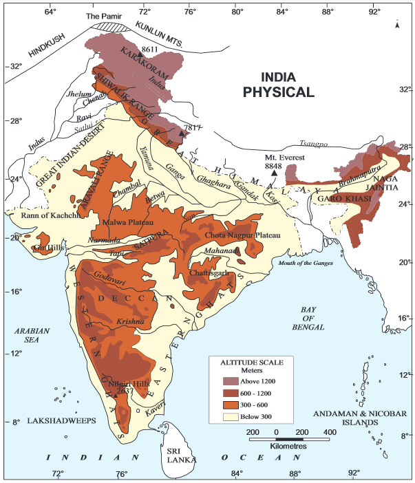 TNPSC Study materials : Geography | Geographical outline of India |_40.1