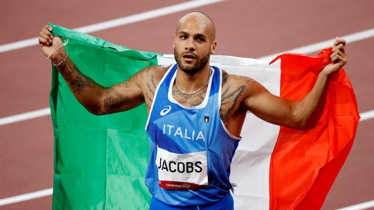 Italy's Marcell Jacobs wins men's 100m gold at Tokyo Olympics 2020 | 2020 டோக்கியோ ஒலிம்பிக்கில் ஆண்கள் 100 மீட்டர் தங்கத்தை இத்தாலியின் மார்செல் ஜேக்கப் வென்றார் |_40.1