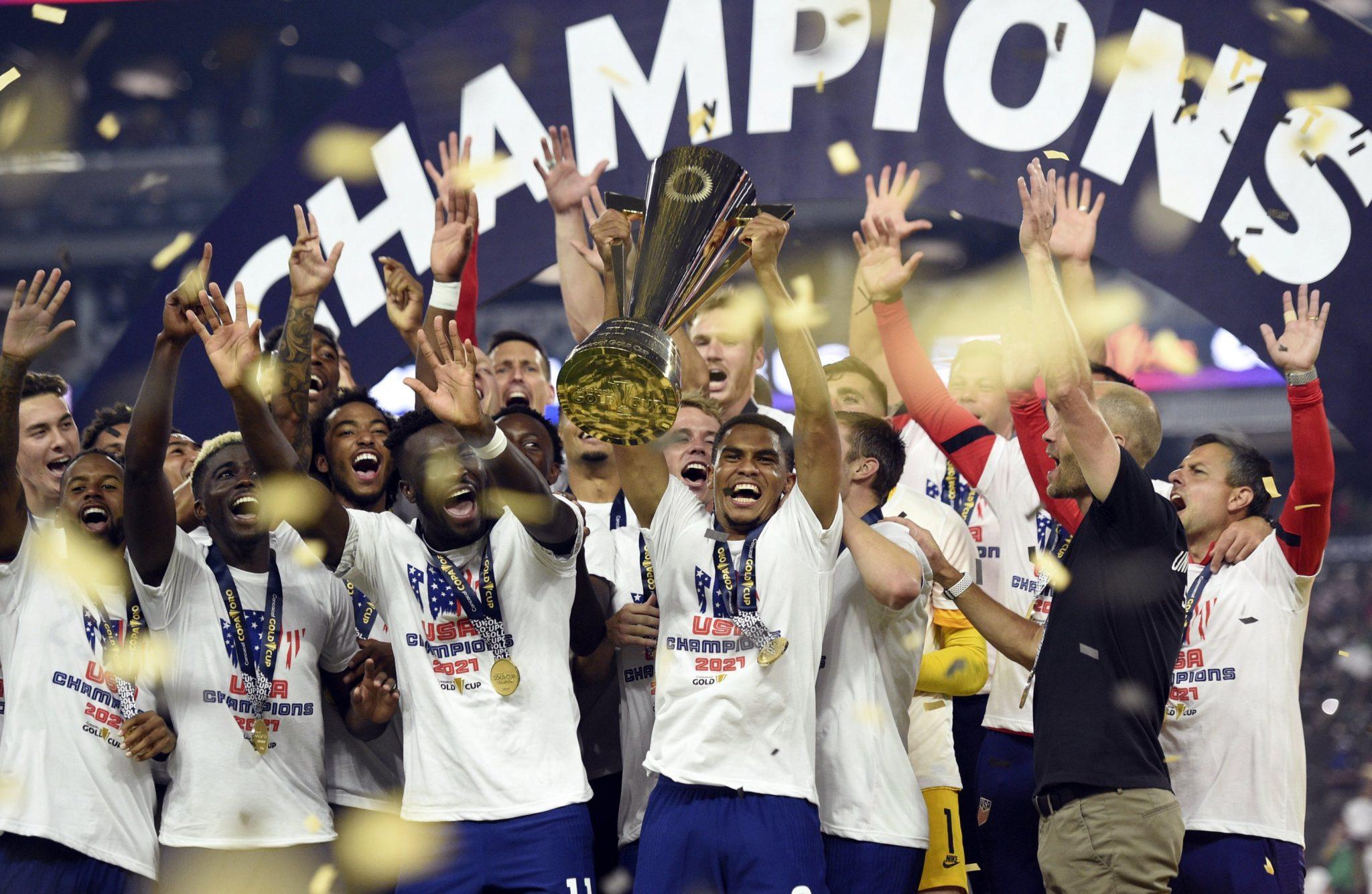 US clinches CONCACAF Gold Cup in football | கால்பந்தில் CONCACAF தங்கக் கோப்பையை அமெரிக்கா வென்றது |_40.1