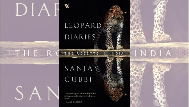 A book on Leopard titled 'Leopard Diaries – the Rosette in India' by Sanjay Gubbi |_40.1