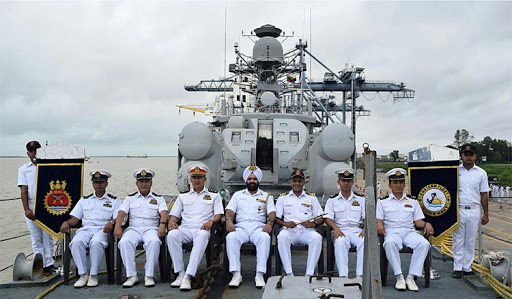 INS Khanjar becomes the first INS to call at heritage coastal port  _40.1