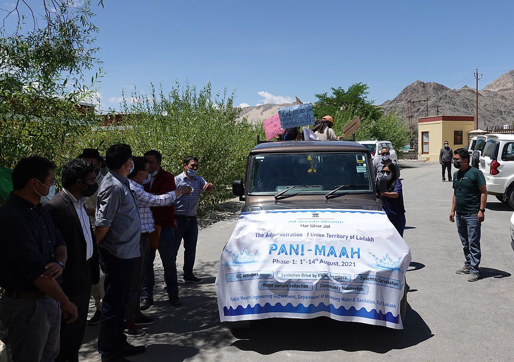 Ladakh launches 'Pani Maah' to raise awareness about clean water  _40.1