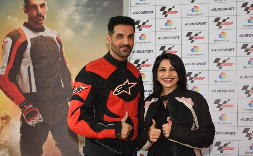 Eurosport India appoints John Abraham as the MotoGP Brand Ambassador |_40.1
