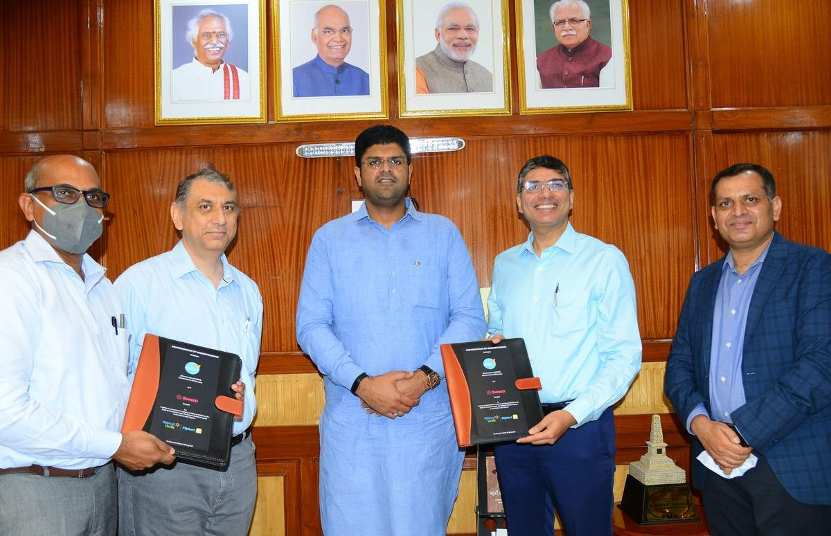 Haryana govt signs MoU with Walmart Vriddhi to help MSMEs |_40.1